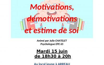 Mardi 15 juin Soirée débat !