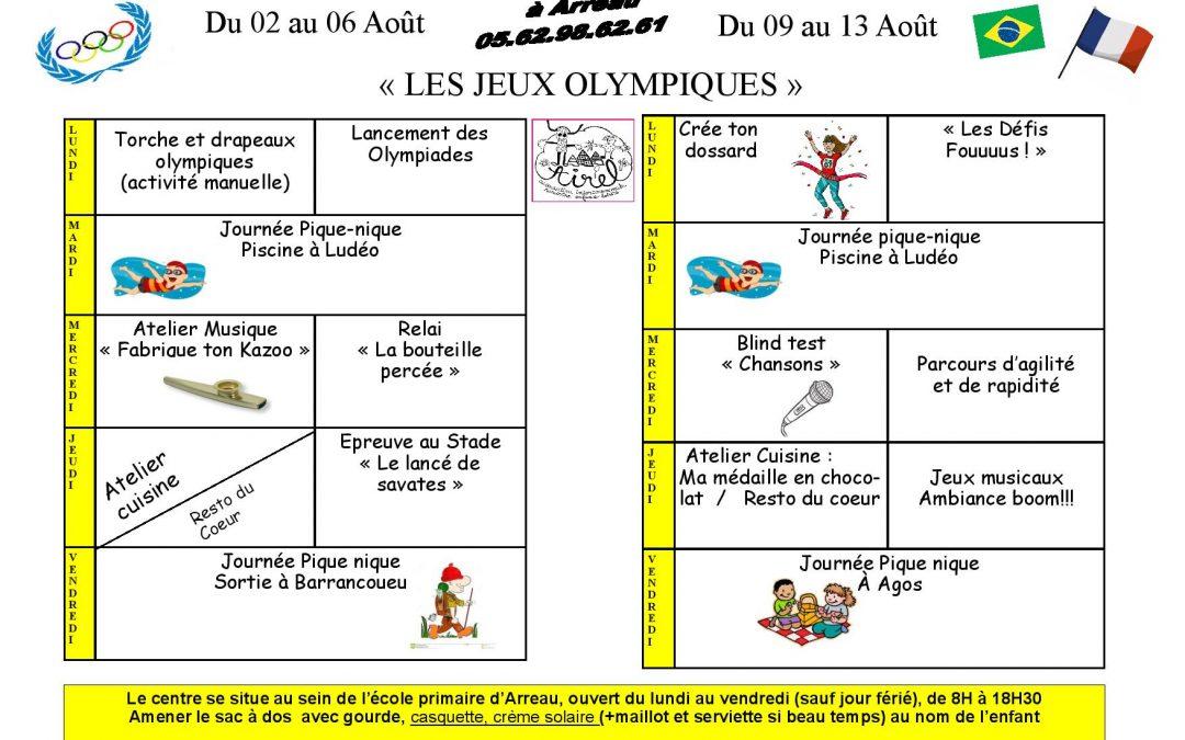 Programmes des 6 . 10 ans à Arreau du 02 au 13 Août